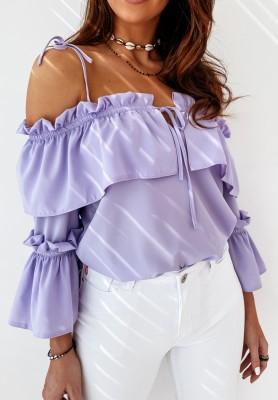 Bluzka Hiszpanka Doretti Lilac