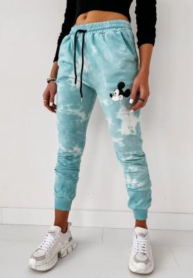 Spodnie Dekatyzowane Mouse Blue
