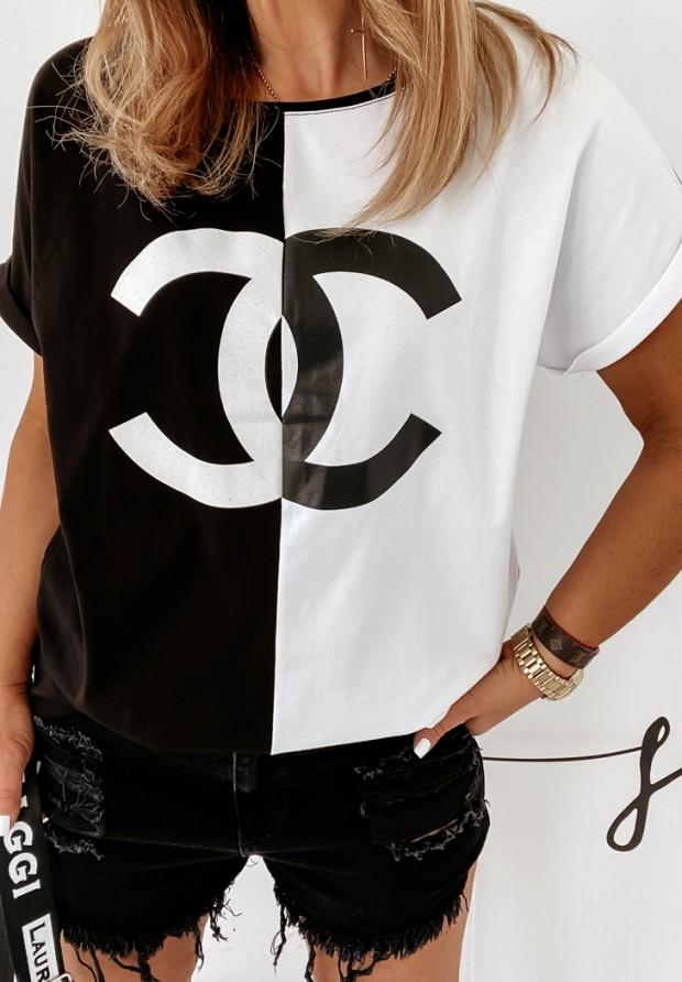 Bluzka Coco Black&White