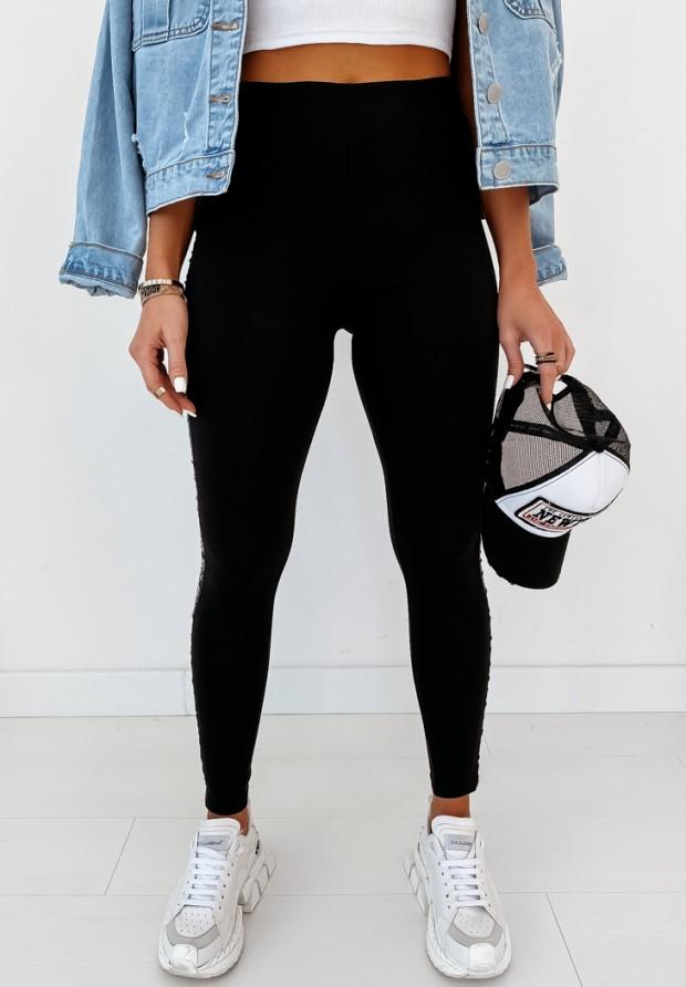 Spodnie Slim Icon Black