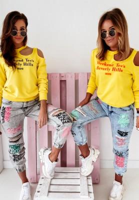 Spodnie Jeans American Grey