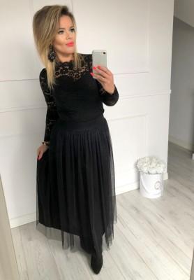 Spódnica Maxi Tiul Black