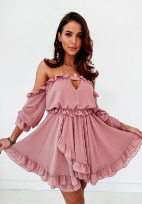 Sukienka Serena Brudny Róż