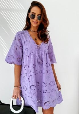 Sukienka Boho Carissa Lilac