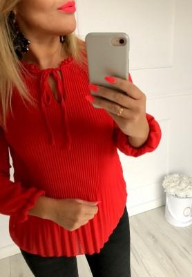 Bluzka Lena Czerwona