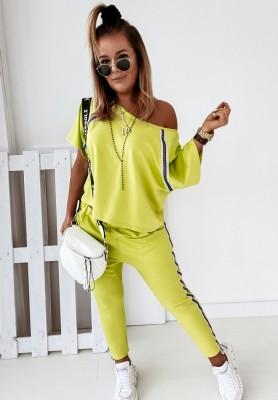 Komplet Nice Neon Lime