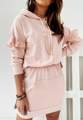 Bluza Sukienka Caletta Powder