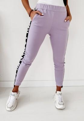 Spodnie Lamu B&W Lilac