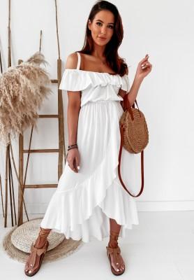 Sukienka Boho Alila White