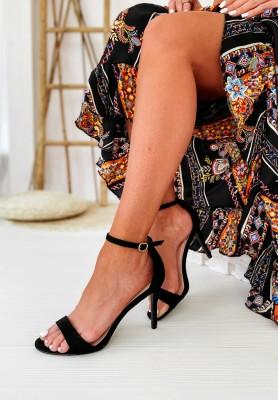 Sandałki Mergie Black