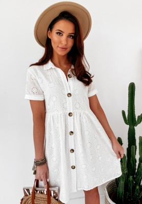 Sukienka Boho Letty White