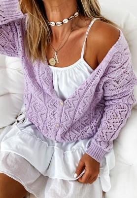 Sweter Kardigan Valbella Lilac