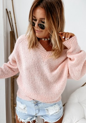 Sweter Overisize Cocomore Belle Powder