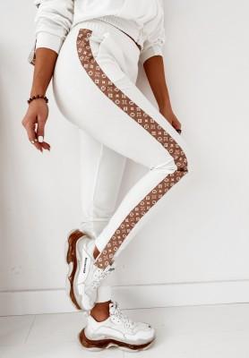 Spodnie Omega Loui Ecru