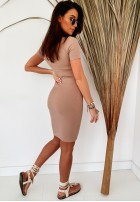Sukienka Slim Bavarro Camel