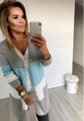 Sweter Kardigan Lou Blue