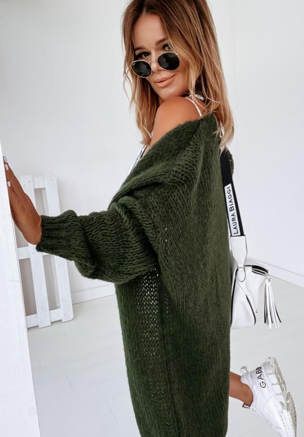 Sweter Kardigan Bueno Khaki