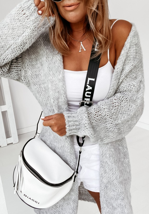 Sweter Kardigan Bueno Grey