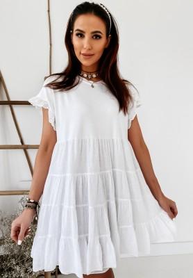 Sukienka Adrina White
