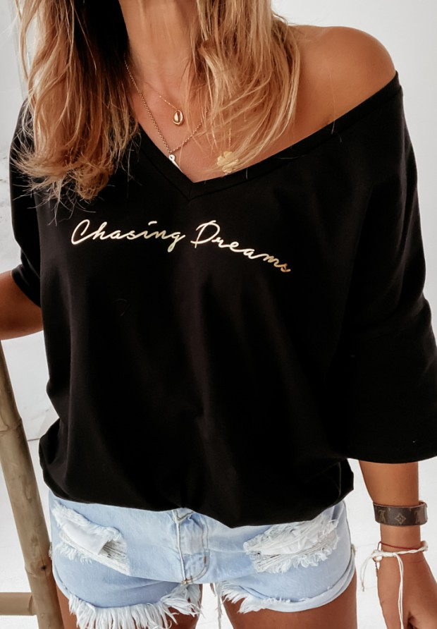 Bluzka Chosing Dreams Black