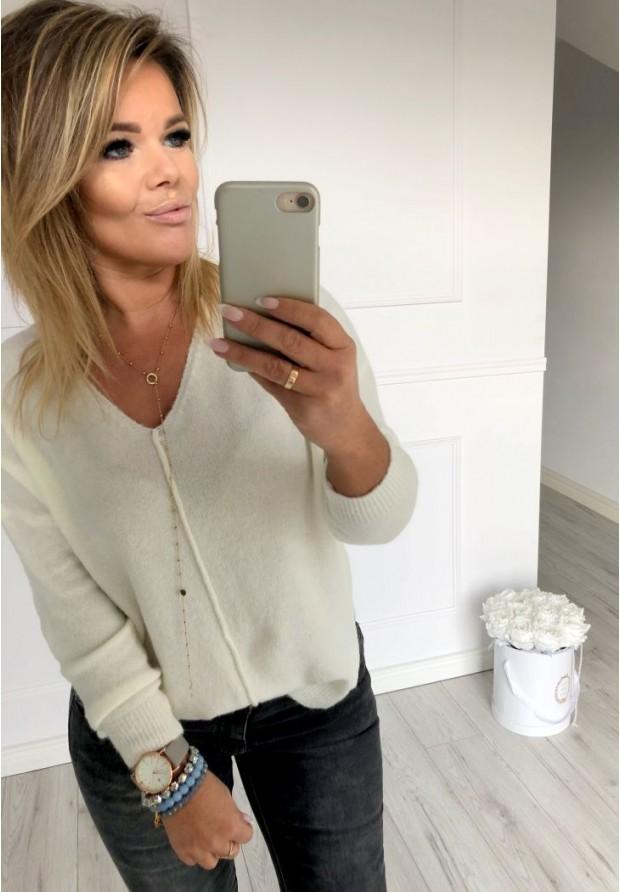 Sweter Guana Ecru