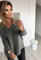 Sweter Guana Szary