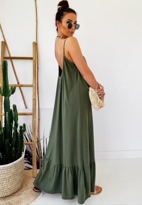 Sukienka Maxi Caraway Khaki