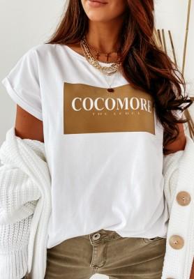 Bluzka Cocomore Label White