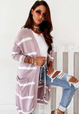 Sweter Kardigan Benson Lilac