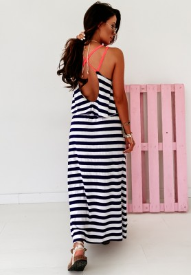 Sukienka Maxi Mermaid Neon