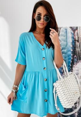 Sukienka Boho Sherman Blue