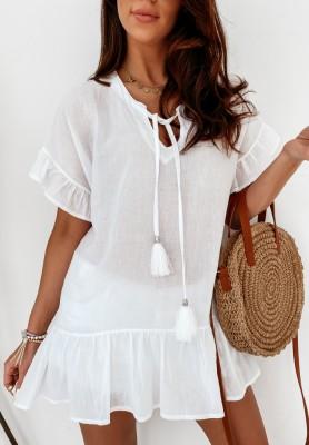 Sukienka Tunika Iditta White