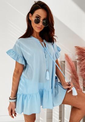 Sukienka Tunika Iditta Blue