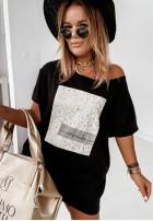 Bluzka Tunika Monroe Black