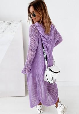 Sweter Kargidan Triangle Lilac