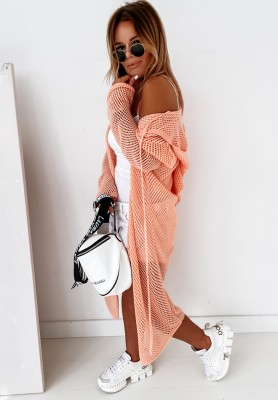 Sweter Kargidan Triangle Peach