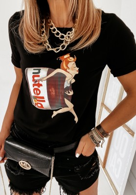 T-shirt Nutella Black