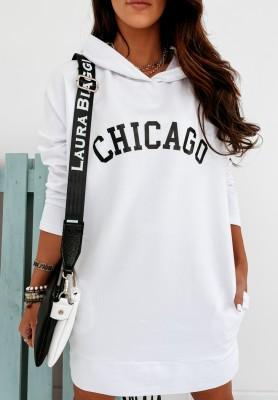 Bluza Sukienka Chicago White