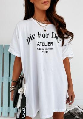 Sukienka Oversize Die White