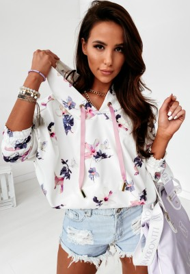 Bluza Cocomore Violet Butterfly