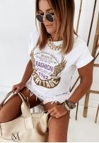 T-shirt Heritage White