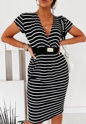 Sukienka Stacy Paski Black