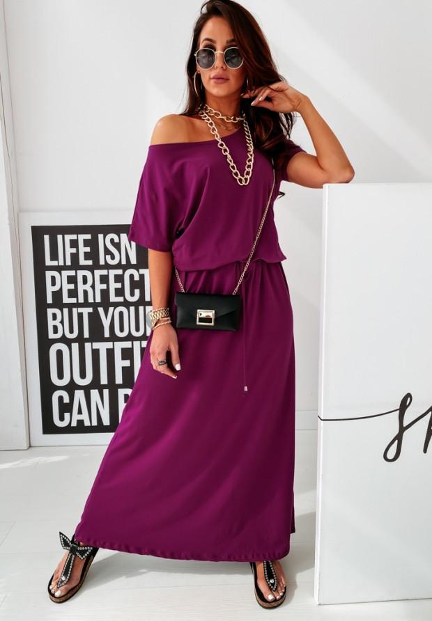 Sukienka Maxi Marigold Plum