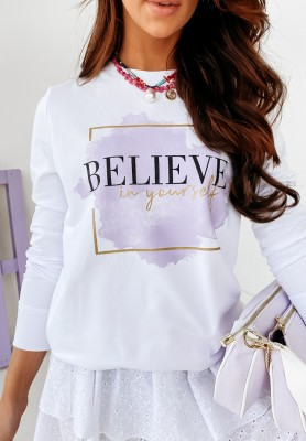 Bluza Yourself White
