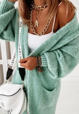 Sweter Kardigan Pretty Mint