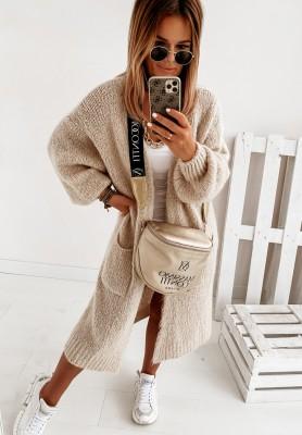 Sweter Kardigan Pretty Beige