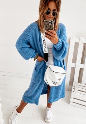 Sweter Kardigan Pretty Blue