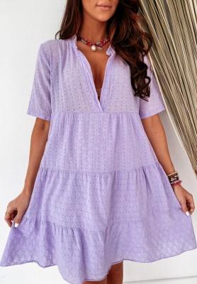 Sukienka Boho Jennete Lilac