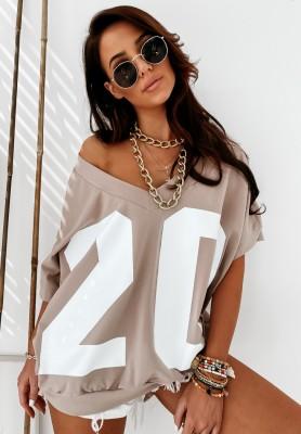 Bluza Oversize Twenty Mokka