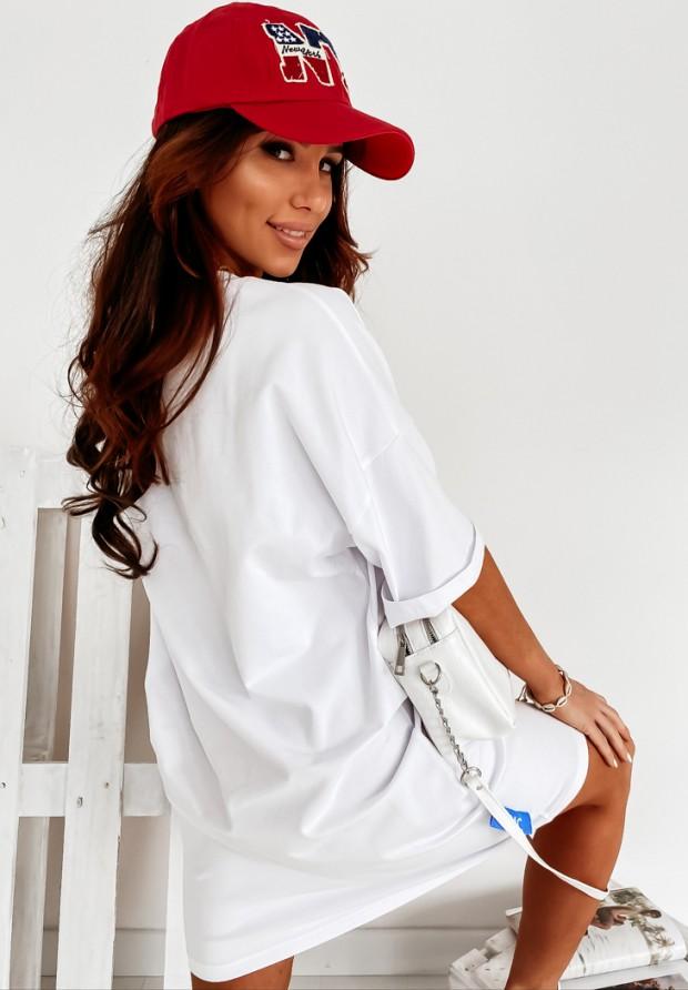 Bluzka Tunika MC City White